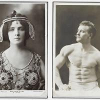 Public donations were given to the Olympic Appeal by exotic dancer Miss Maud Allan and professional wrestler Eugen Sandow
