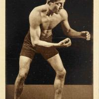 George de Relwyskow, who won a gold medal in the lightweight wrestling & a silver medal in the middleweight class