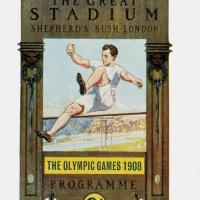 Programmes with this design were issued for each day of stadium events