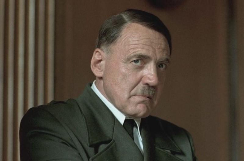 'I was scared just for two or three seconds. Then I was actor enough to say, 'That's OK, that will help. Even if you are bad as Hitler still you'll look like him'