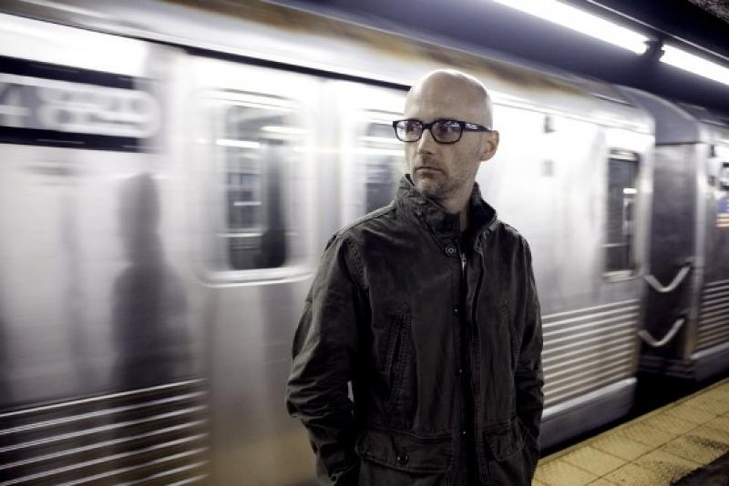 Moby, punk, electronic orchestrator and self-confessed nerd
