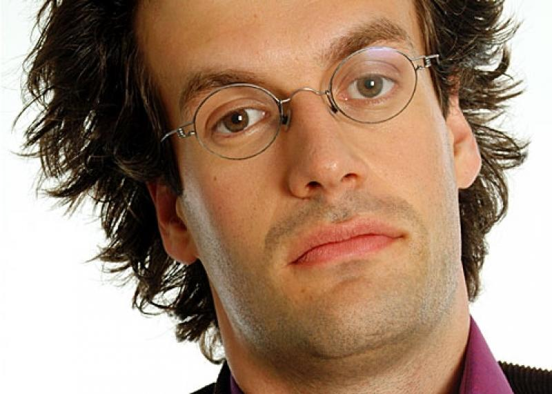 Marcus Brigstocke: religionists and smug atheists get a kicking in his show