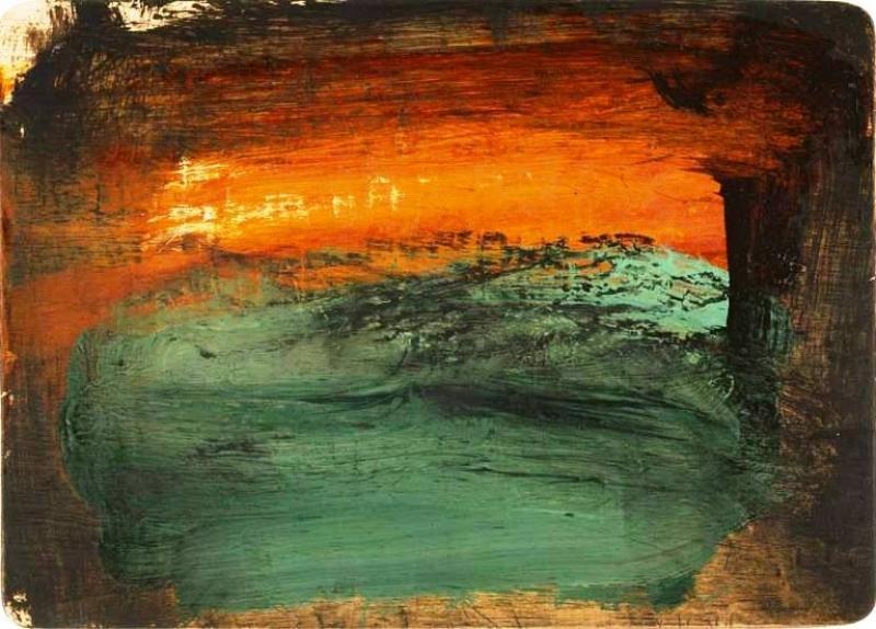 Art gallery howard hodgkin time and place visual arts for Howard hodgkin