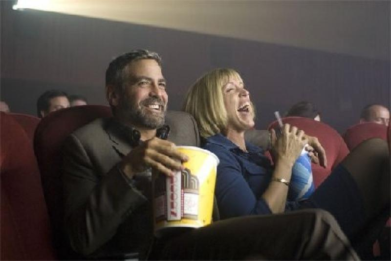 George Clooney and Frances McDormand in Burn After Reading