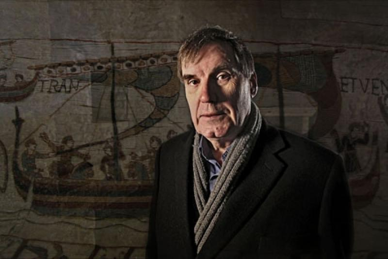 In the absence of newsreel footage, Professor Robert Bartlett leans heavily on the Bayeux Tapestry