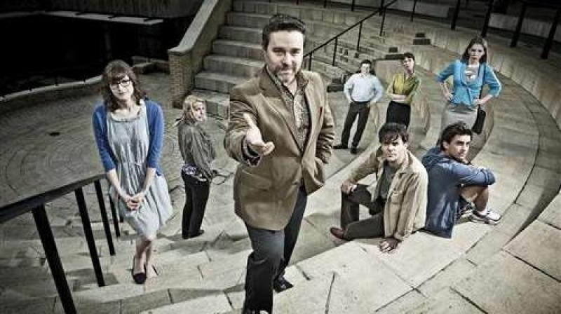 'Campus' follows the staff of Kirke University, led into battle by Jonty de Wolfe (Andy Nyman)