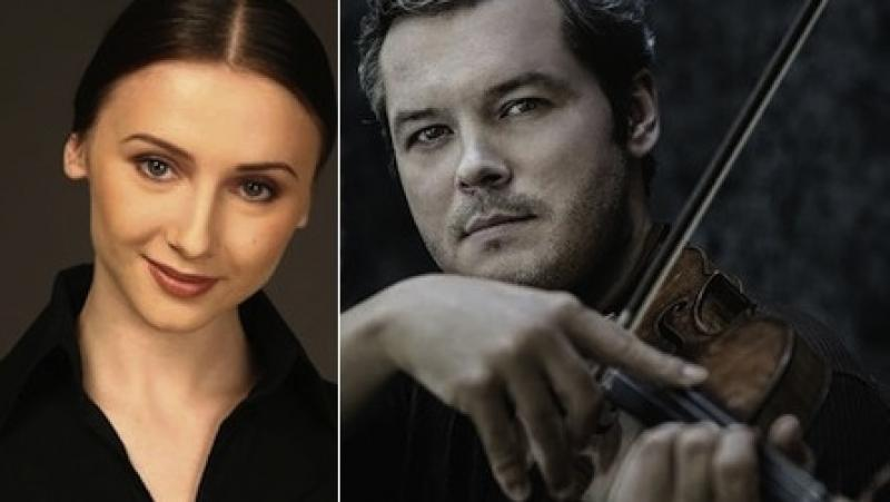 Proud parents: Ballerina Svetlana Zakharova and violinist Vadim Repin are Russian megastars