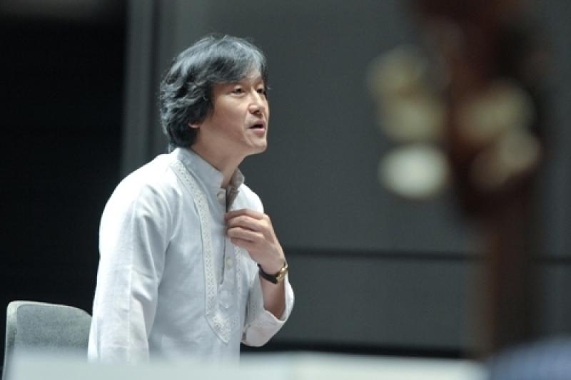 Kazushi Ono, a conductor whose poise between rhythmic rigour and late-Romantic phrasing is a joy to watch