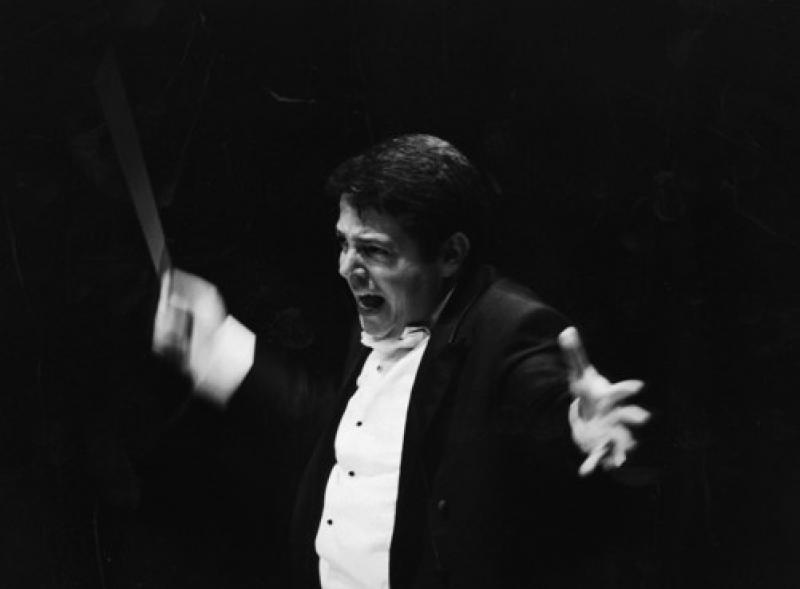 Maestro of the Bergen Philharmonic, Andrew Litton