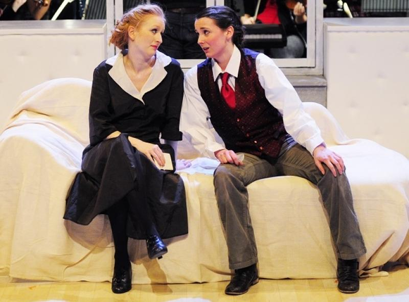 Llio Evans and Annie Sheen as Susanna and Cherubino: Witty, eye-catching, uninhibited