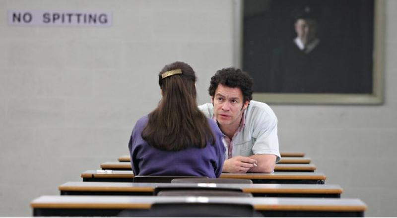 Dominic West and Emily Watson in ITV1's Appropriate Adult