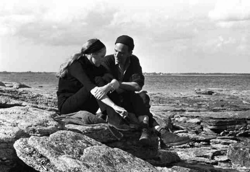 a review of the magic lantern the life of ingmar bergman The island is faro, where ingmar bergman lives, and the house is bergman's house, and the beach is where he walks, and the office is where he works, and we can see a.