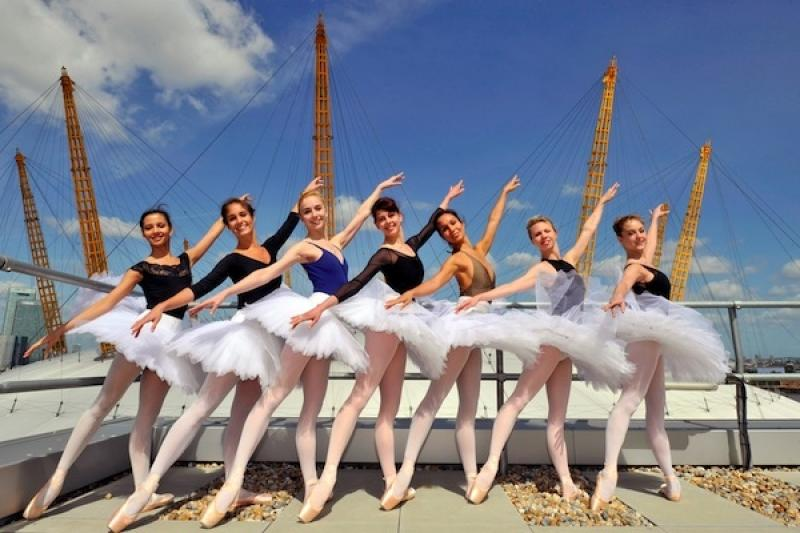 Taking ballet to the masses: the Royal Ballet's corps de ballet on the roof of the O2