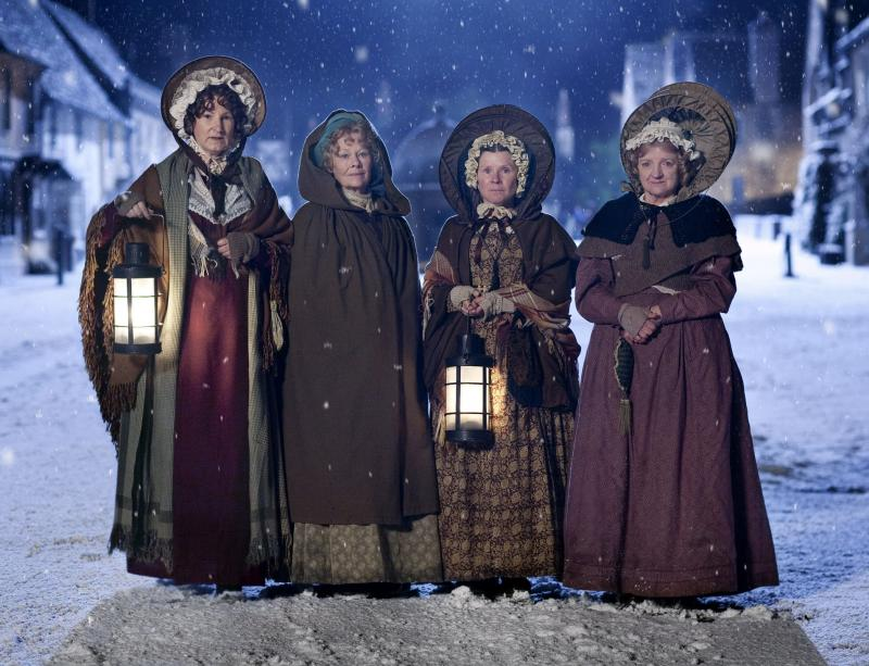 Desperate Victorian housewives: Deborah Findlay, Judi Dench, Imelda Staunton and Julia McKenzie