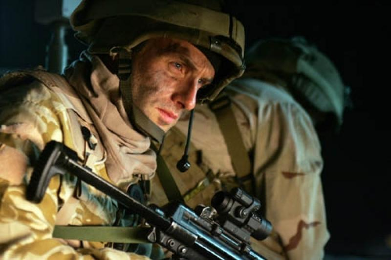 Andrew Lincoln's SAS soldier ponders the rights and wrongs of invading Iraq