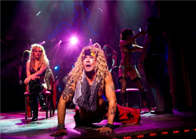 Rock Of Ages The Musical Shaftesbury Theatre New Music