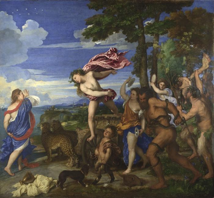 Bacchus and Ariadne, 1520-3: Titian's masterpiece has been endlessly drawn upon by artists down the centuries