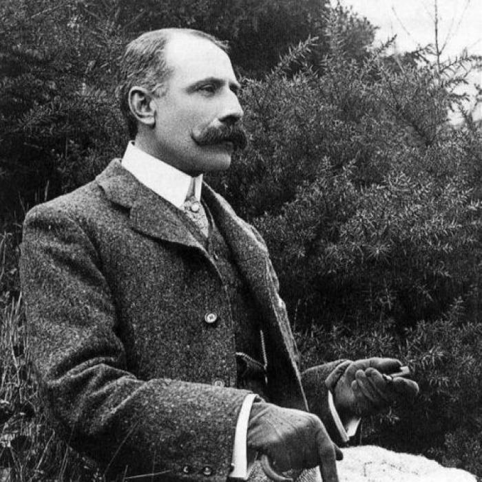 Elgar consciously manipulated the public image of the country gent; but the truth was very different