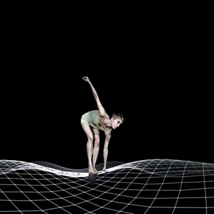 Mach 2: The virtual Julia Mach, generated in a 3D computer digital space to Stravinsky's 'Rite of Spring'