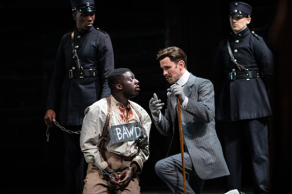 David Ajao and Joseph Arkley as Pompey and Lucio © Helen Maybanks for RSC