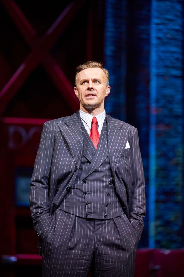 Tom Lister in 42nd Street, Theatre Royal Drury Lane