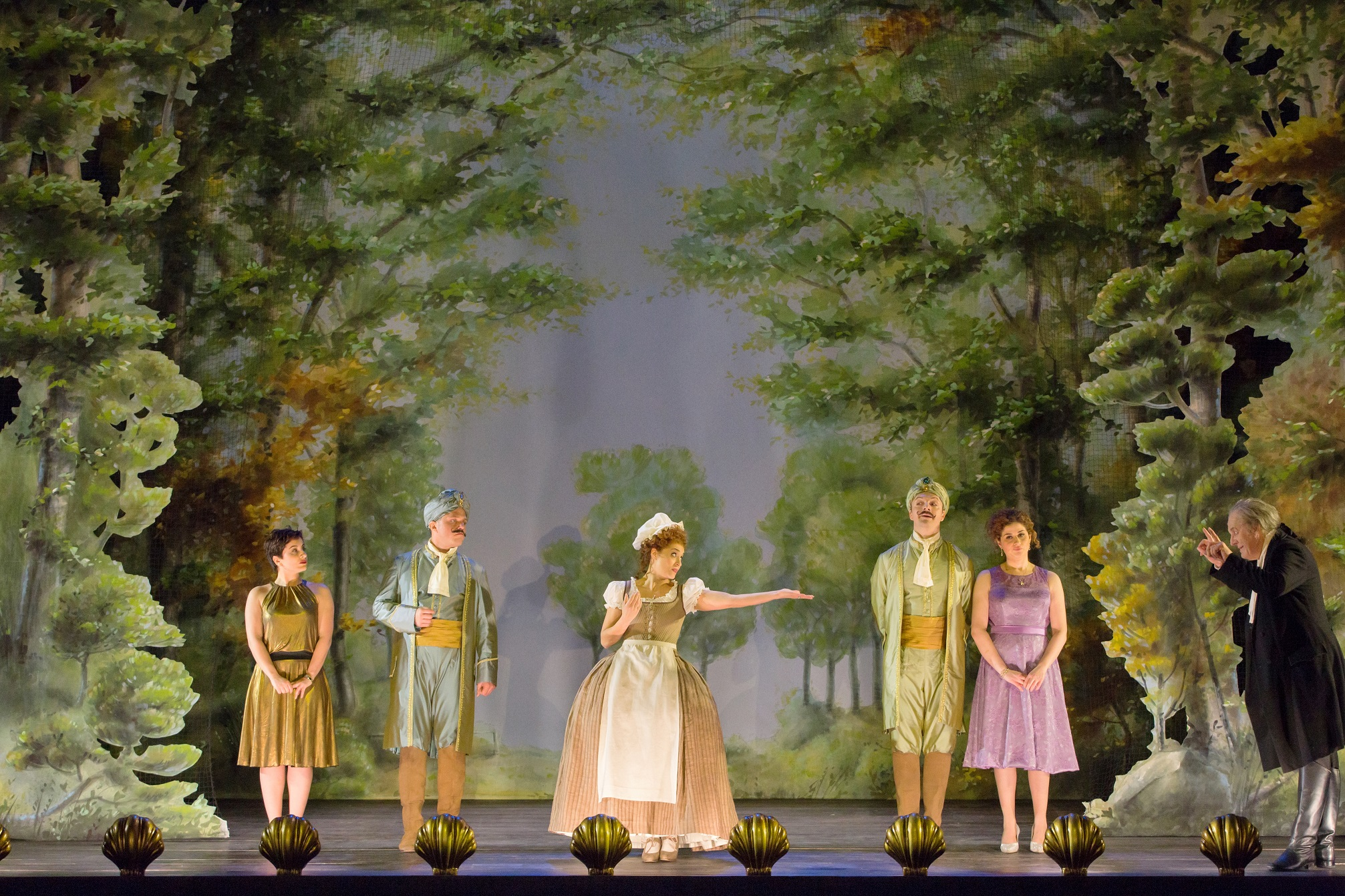Cosi fan tutte at the Royal Opera