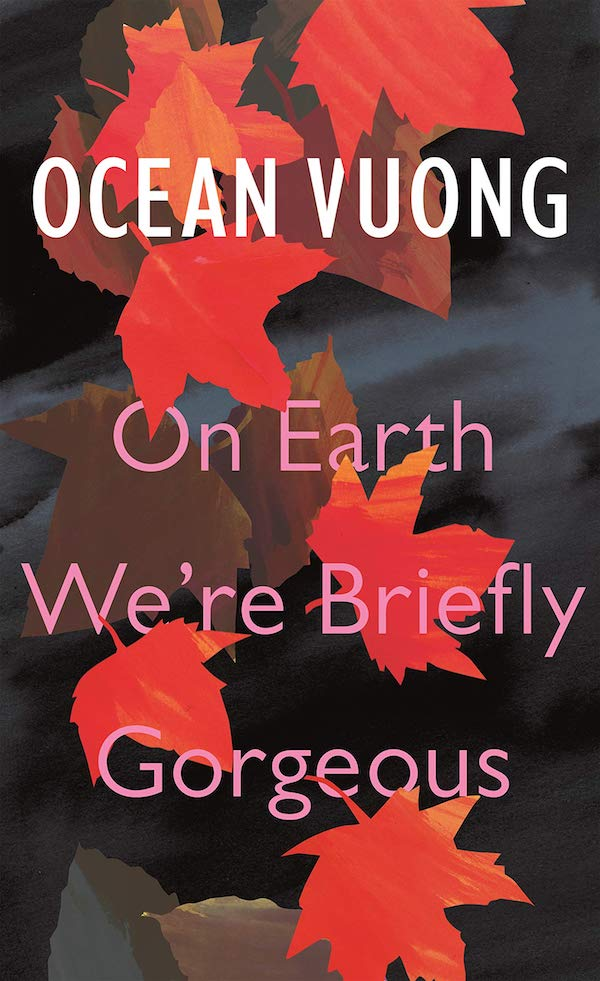 On Earth We're Briefly Gorgeous by Ocean Vuong book jacket