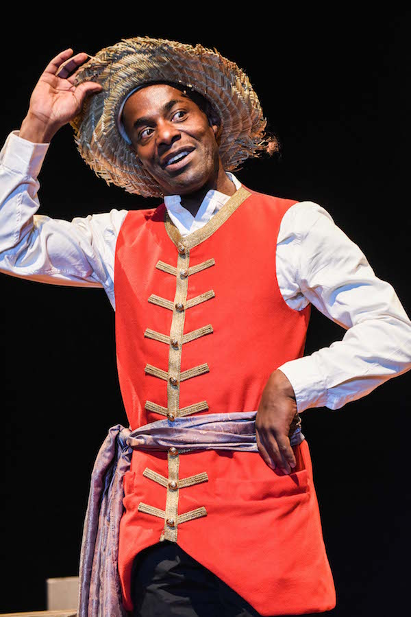 Paterson Joseph as Charles Ignatius Sancho © Robert Day