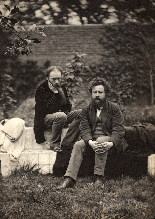 Edward Burne-Jones and William Morris © National Portrait Gallery