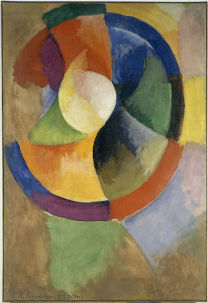Formes circulaires, Soleil no 2, 1912-1913 by Robert Delaunay