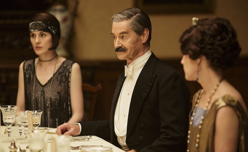 Downton Abbey, ITV1: Alien versus Dowager