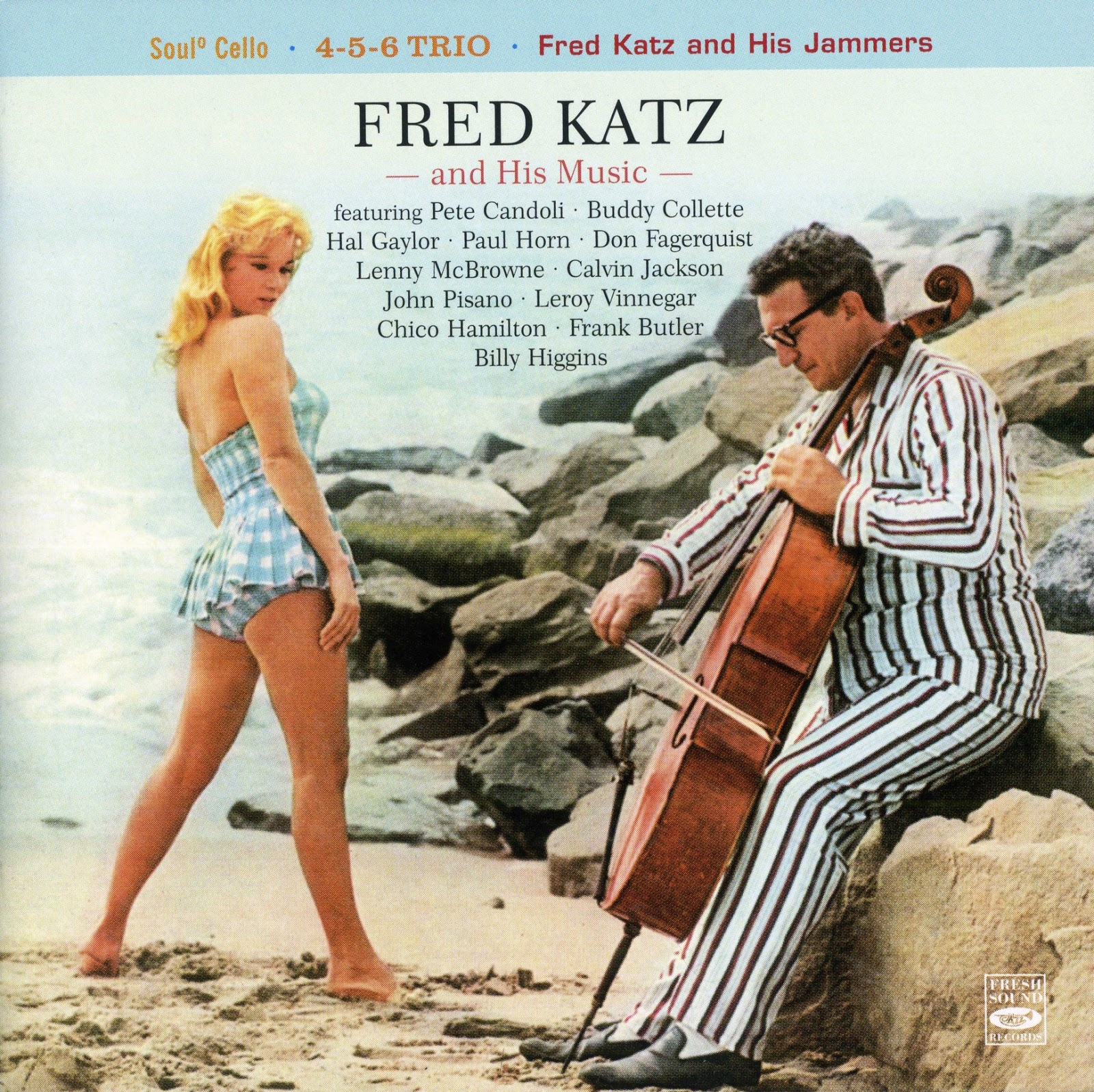 Album cover Fred Katz and His Jammers
