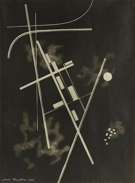 Homage to Kandinsky, 1937, by Marta Hoepffner