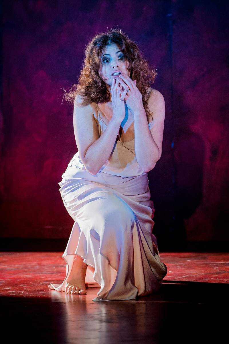 Kate Ladner as Lady Macbeth - photo by Robert Workman