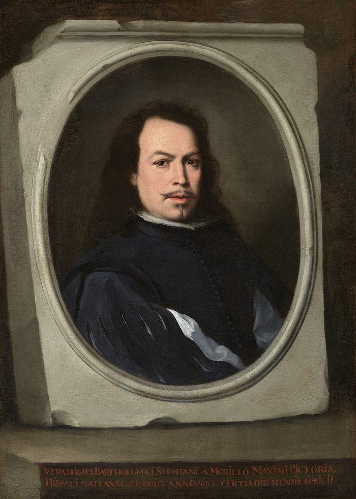 Self-Portrait - Bartolomé Esteban Murillo, about 1650-5
