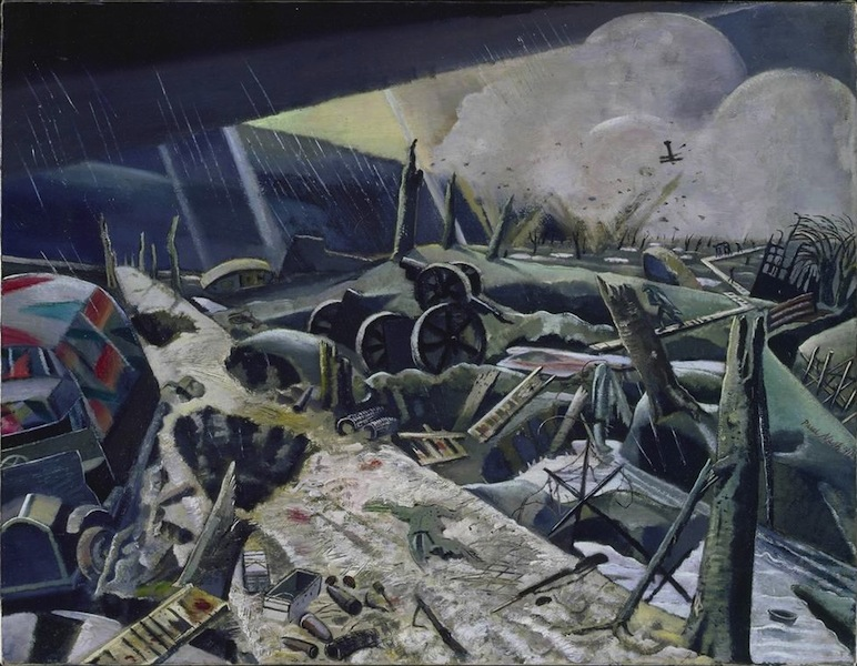 Paul Nash, Void, 1918, National Gallery of Canada, Ottawa