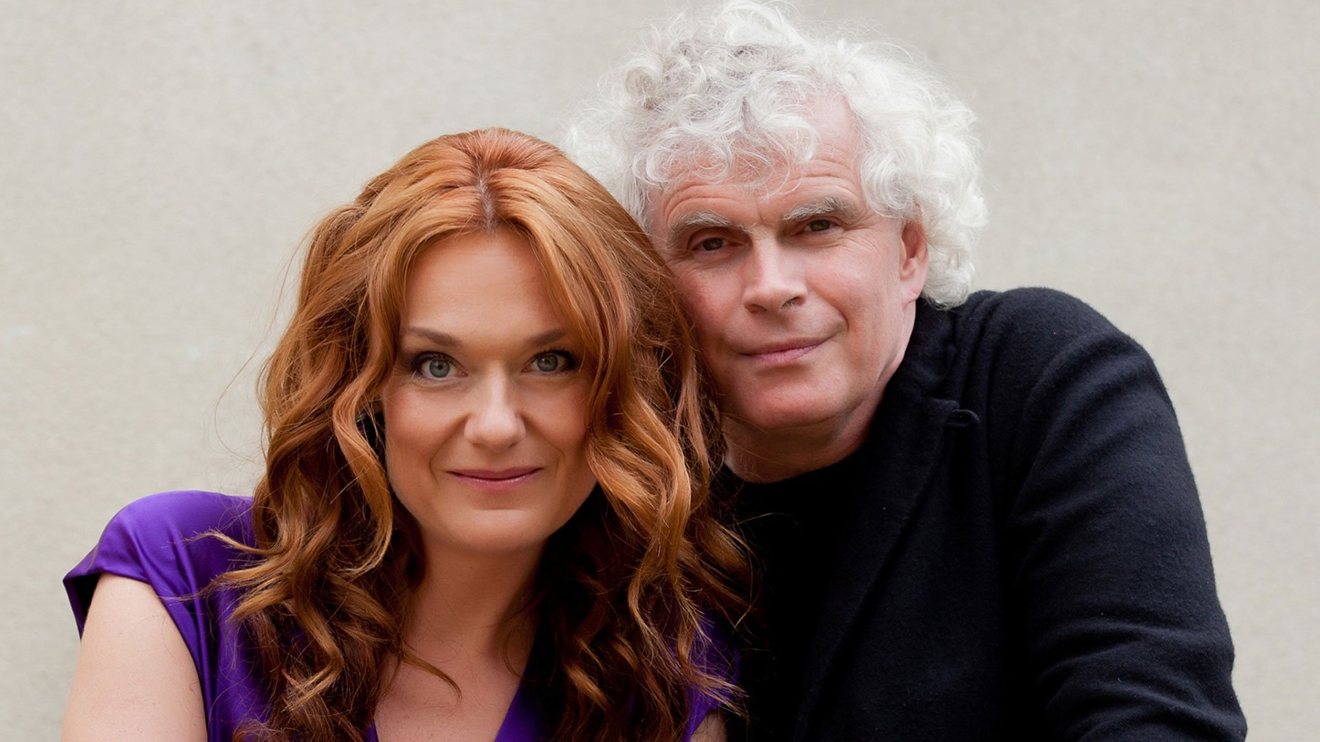 Magdalena Kožená and Sir Simon Rattle