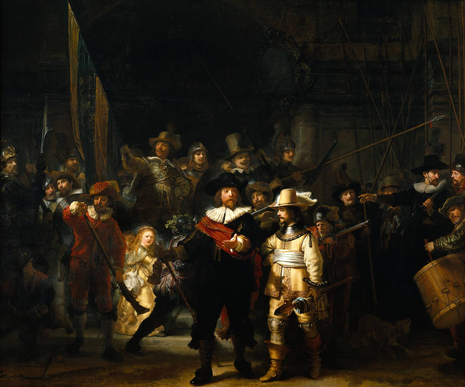 Rembrandt, The Night Watch, 1642