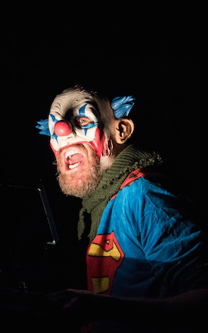 Rhys Ifans as the Fool in King Lear credit by Manuel Harlan