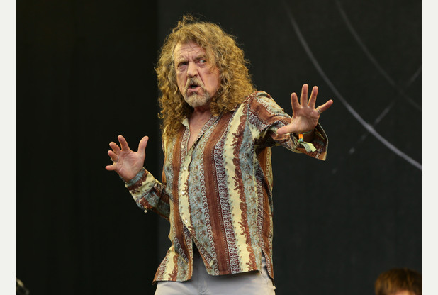 Robert Plant at Glastonbury