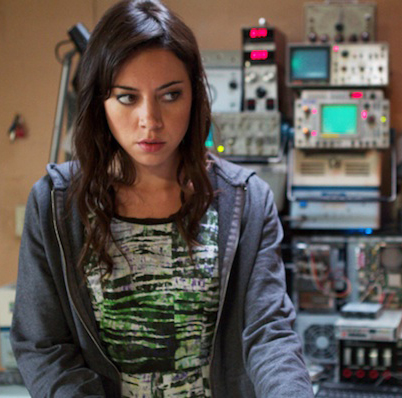 Darius (Aubrey Plaza) in Safety Not Guaranteed