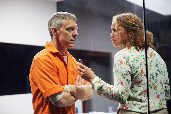 Trevor White as Rick and Angela Griffin as Gloria © Mark Douet