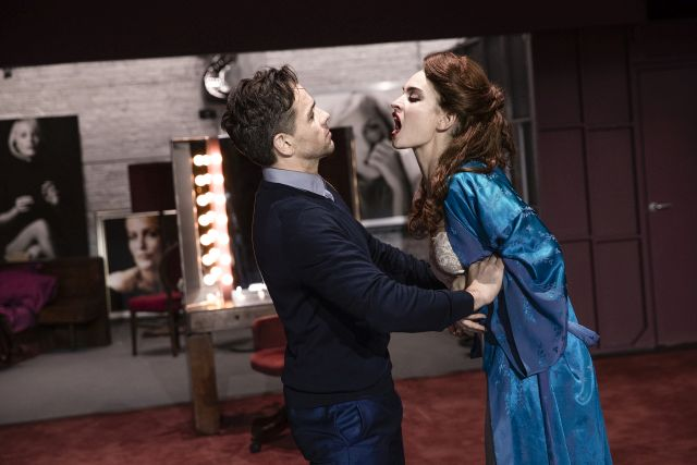 Julian Ovenden and Lily James in 'All About Eve'
