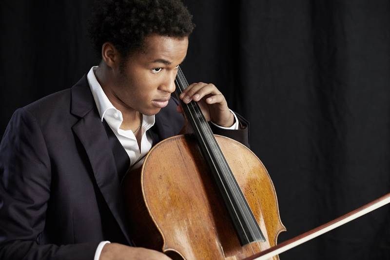 Sheku Kanneh-Mason (photo by Jake Turney)