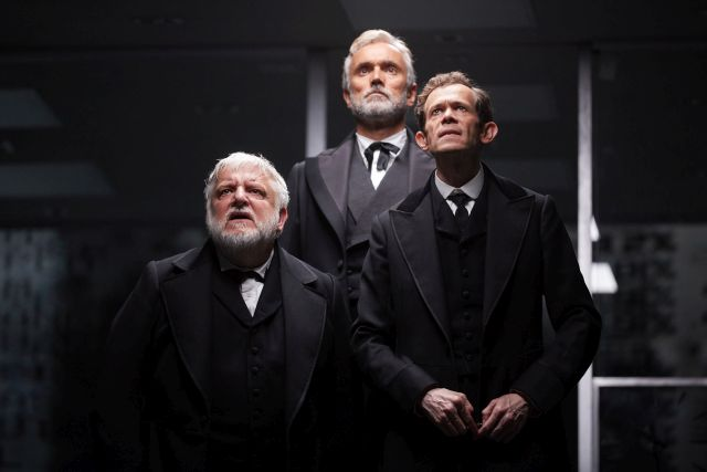 The cast of 'The Lehman Trilogy'