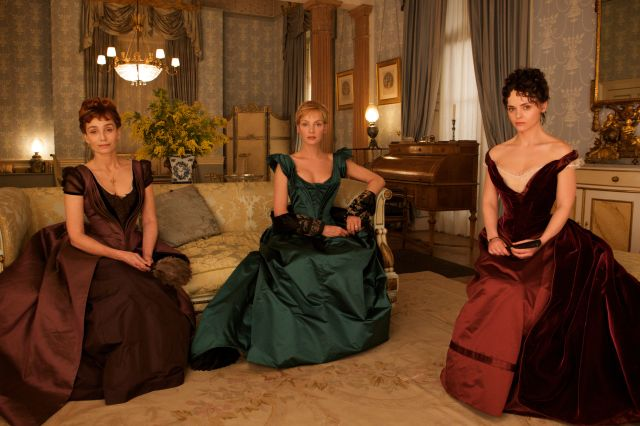 the three women in R Patz's orbit