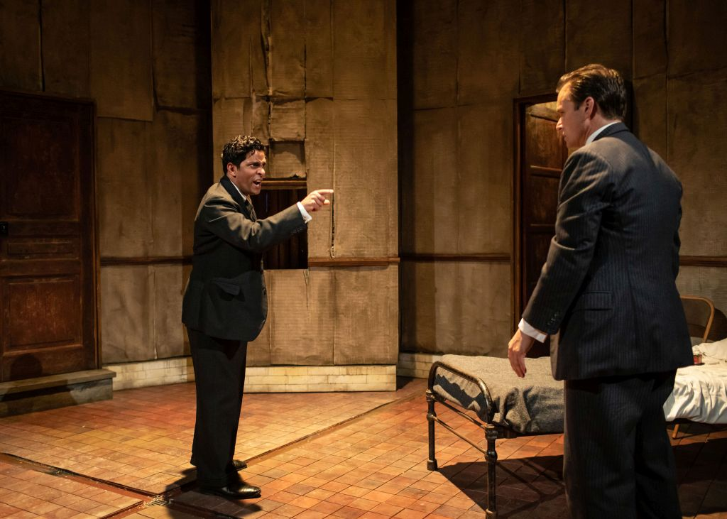 Shane Zaza and Alec Newman in Pinter's 1960 play