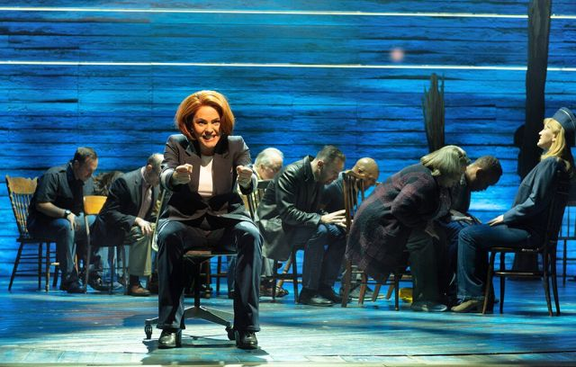 Rachel Tucker in 'Come From Away'