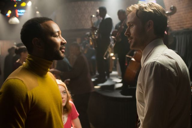 John Legend and Ryan Gosling in La La Land
