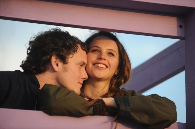 Anton Yelchin and Felicity Jones at their giddiest in Like Crazy